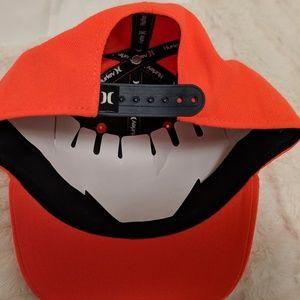 Hurley Accessories - NEW Orange Hurley Snapback Hat